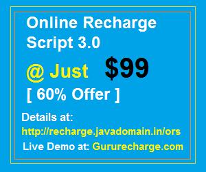 Online Recharge Script